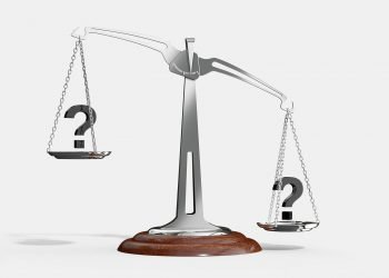 Unbalanced scale weighing choices